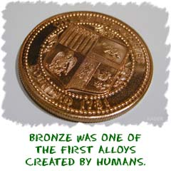 What are the properties of bronze?